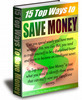 Thumbnail 15 Top Ways To Save Money