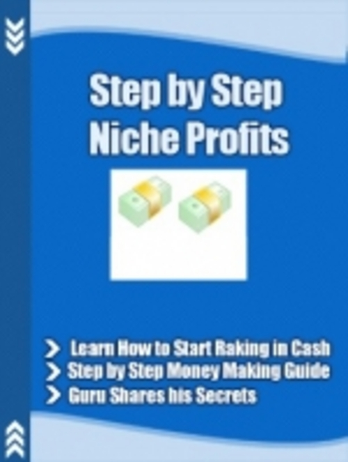 Product picture Step By Step Niche Profits