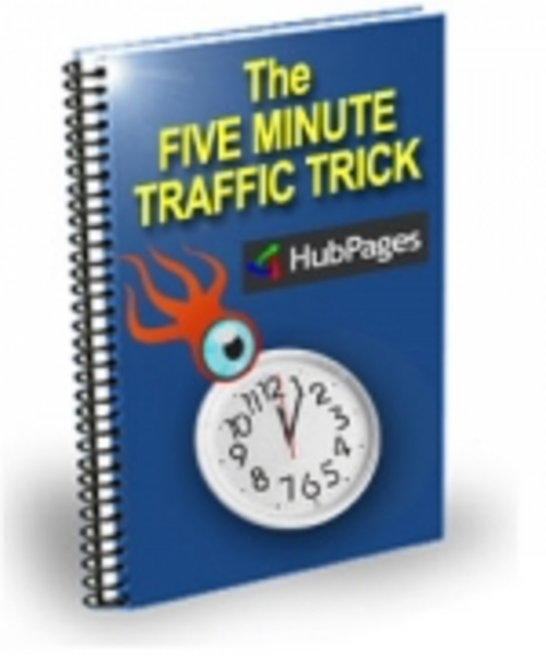 Product picture The Five Minute Traffic Trick